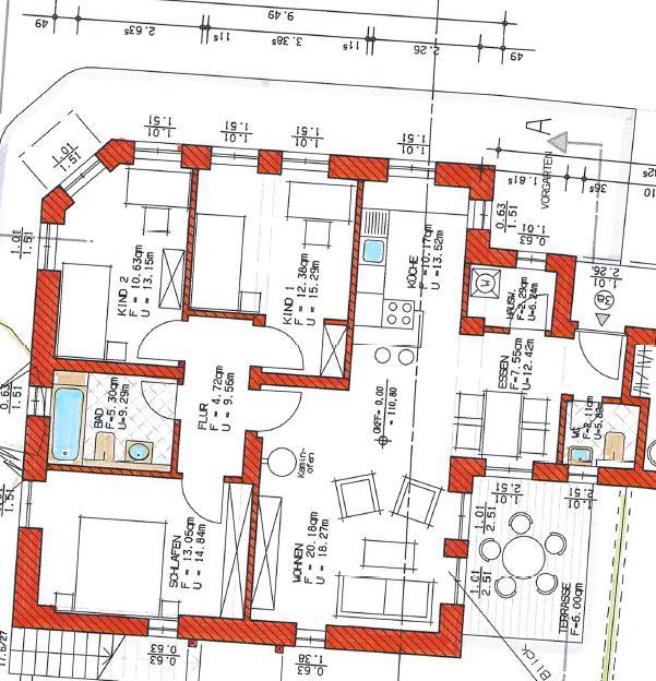 Grundriss Haus 2 WE 06