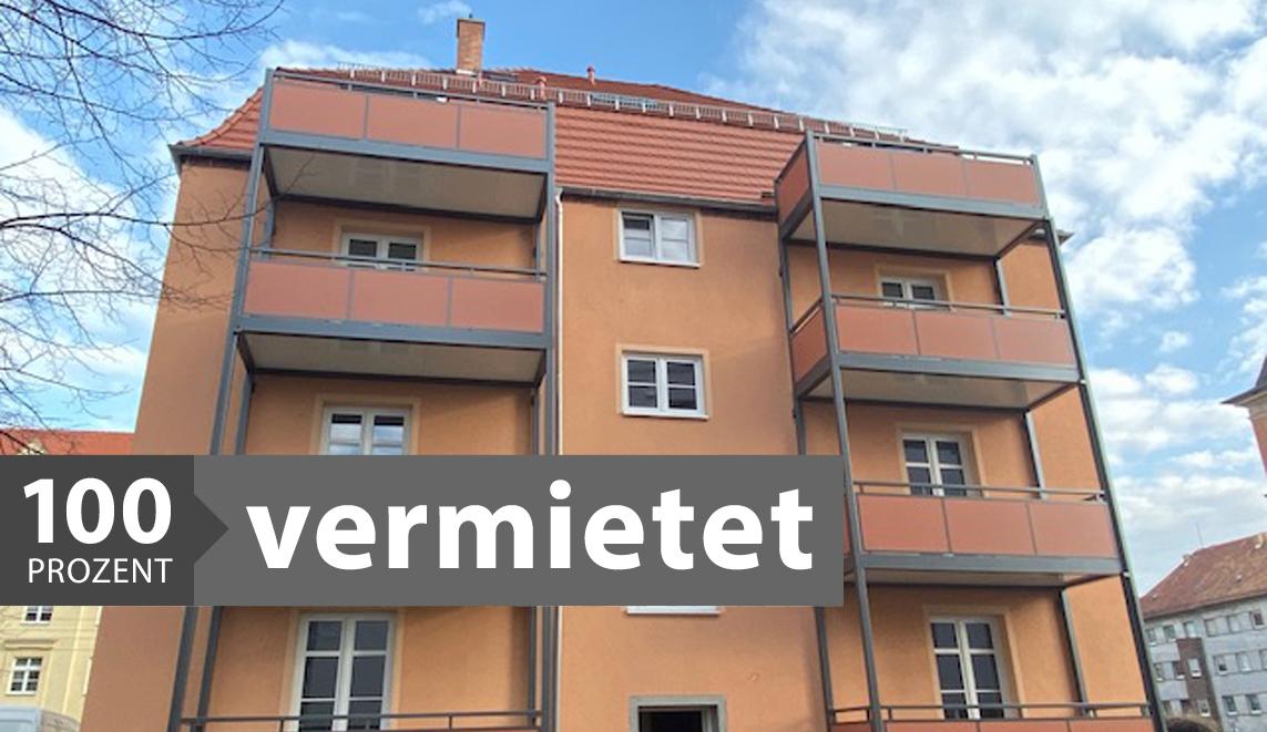 Vermietung Wohnung Sanierung Dresden Löbtau Cotta